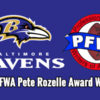 2013 Pete Rozelle Award Winners