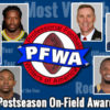 2013 PFWA Award Summary