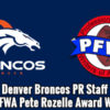 2014 Pete Rozelle Award Winners