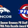 2014 Pete Rozelle Award Winners