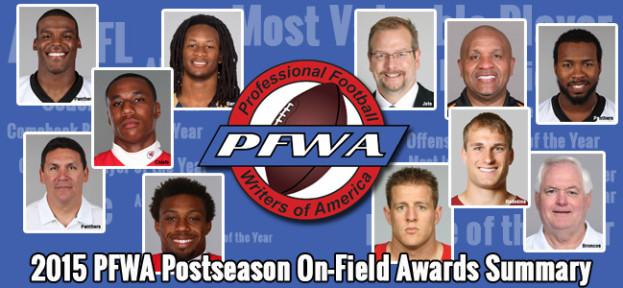 2015 PFWA Award Summary