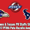 2017 Pete Rozelle Award Winners
