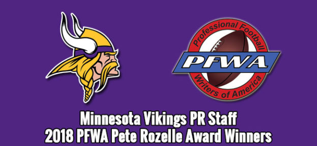 2018 Pete Rozelle Award Winners